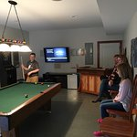 Rec room in lower level, family had fun!
