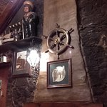 Decor in keeping with the history of the pub