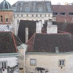 View from rooftop terrasse