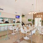 Newly renovated bar and lounge