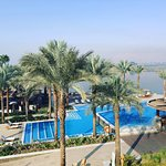 Pool and Nile view from our room
