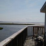 Beautiful view from your bayfront deck! Soooooo relaxing!