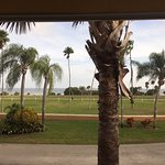View from our room at Safety Harbor Resort & Spa.