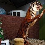 Lego tiger with roar