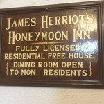 James Herriot (Alf Wight) spent his honeymoon here in 1941