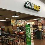 Subway inside Milford Walmart