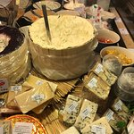 All famous cheeses