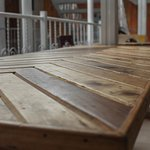 All of our dining furniture is made from upcycled pallets