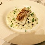 Turbot on celeriac rissotto