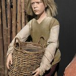 Character from display in Hull and East Riding Museum