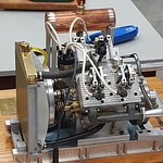 Miniature operational 4 Cylinder Engine