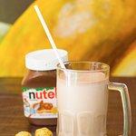 Malteada de Nutella o de Chocolate Ferrero Rocher