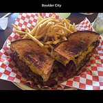 This place is on the way to Hoover Dam and let me tell you was worth the stop!!!! the patty melt