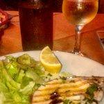 Pesce spada al vino bianco - Segundo plato
