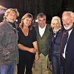 Our Celebrity Carry on Barging Guests Simon Callow , Debbie McGee, Nigel Havers