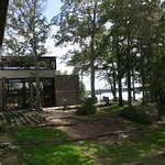 Lakepoint View of the back of the lodge