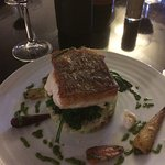 Great new menu at new Cow Roast under new management with great new chef, who came out to discus