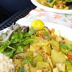 Mermaids Cafe - Coconut Curry Plate (EXCELLENT)