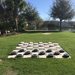 Giant checkers board