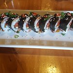 spicy tuna shrimp tempura roll