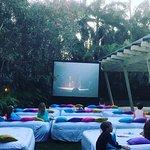 kids outdoor movie night