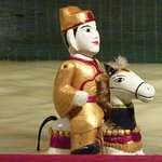 One of the Puppets at the Water Puppet Theatre
