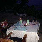 Valentine's dinner table