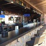 Historically consistent outdoor bar