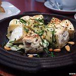 Baked Camembert Cheese with white truffle oil