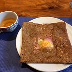 Galette with Cider
