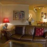 1 Bedroom loft apartment Living area