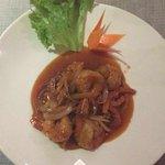 Crevette sauce aigre douce