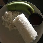 They have great descriptions of things on their menu... Including this Puttu, a Kerala specialty