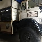 The safari truck that was used to pass weapons... interesting history