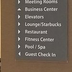 Hotel directory/offerings