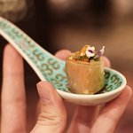 Welcoming amuse bouch