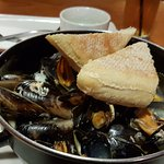 mussels, as first course