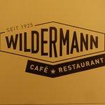 Café Restaurant Wilder Mann Foto
