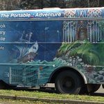 The bookmobile shows up on Fridays.