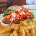 """Fabulous Lobster Rolls - all lobster - with no """"filler""""."""