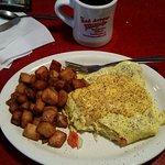 Arrow Omelette & coffee