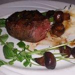 Bison 6oz steak