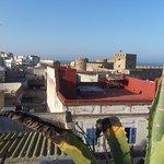 La chateau de la mer depuis la terrasse
