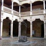 patio of Casa de las Conchas Salamanca © Robert Bovington