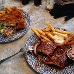 Fich & Chips, & Pork Ribs