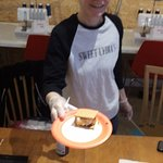 At Gather Here, Sweet Lydia was making S'mores on demand.