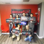 Breakout photo taken after we escaped