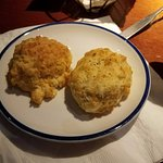 The famous Cheddar Biscuits.