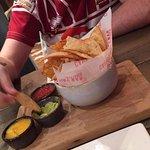 Homemade nacho starter
