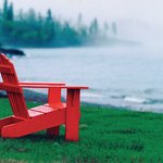 Enjoy a quiet morning on one of our adirondack chairs on the shore of Lake Superior.